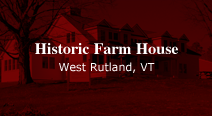 restoration of Vermont's traditional farmhouses