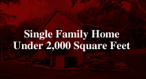 Best New Single Family Home Under 2000 Square Feet