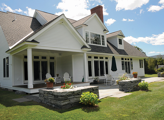Glendenning 39 s vermont country homes design and for Custom country homes